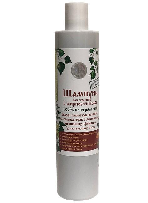 Naturaalne šampoon rasvastele juustele ja kehale, 350 ml